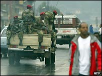 Army in Addis Ababa