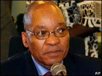 Former SA deputy president Jacob Zuma