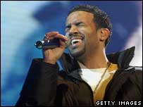 Craig David, Getty