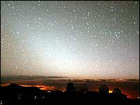 So-called Zodiacal Light