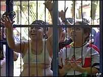 Reclusas en El Salvador.