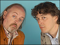 Bill Bailey and Alan Davies in The Odd Couple