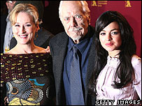 Meryl Streep, Robert Altman and Lindsay Lohan