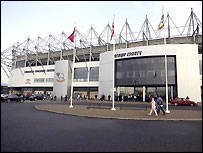 Former director Peter Gadsby was a key figure in the move to Pride Park