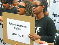 Anti-rape protesters