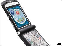 Motorola RAZR handset