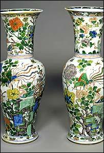 Qing vases