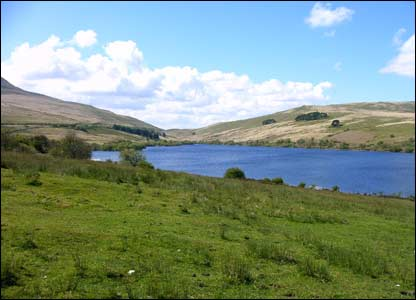 Alun Davies sent in this view of Cray Reservoir in Powys