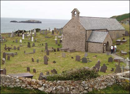 Andrew Culshaw of Neston, Cheshire took this shot of Llanbadrig Church in Cemaes, Anglesey.