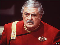 James Doohan in Star Trek