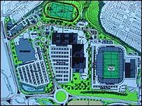 Sports complex plans