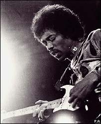 Foto de archivo de Jimi Hendrix.