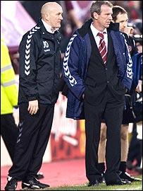 Jim Duffy (left) and Graham Rix