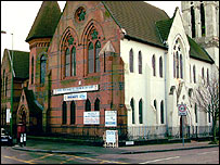 The New Testament Church of God, on Lozells Road, Birmingham.