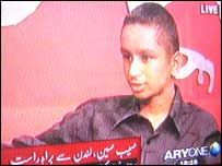 The boy confused with London bomber Hasib Hussain