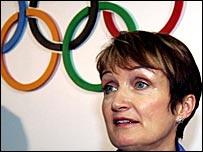 Olympics minister Tessa Jowell