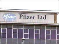 Pfizer plant