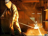 German steelworker
