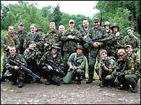 Airsoft players