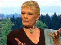 Dami Judi Dench and wood montage. Wentwood photo: pic: Steven Kind/WTPL)