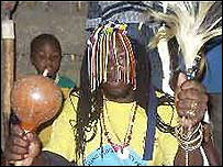 Nigerian traditional healer