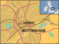 Map of Lenton