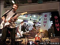 The Ordinary Boys at HMV
