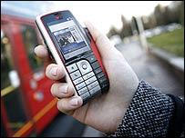 BT Movio mobile TV phone