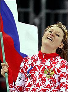 Russia's Svetlana Zhurovag