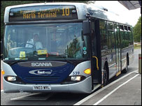 Fastway bus (from West Sussex County Council)