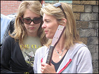Lucinda Mellor and her daughter Eliza