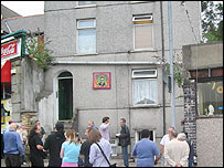 Joe Strummer's old flat in Newport