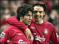 Liverpool match-winner Luis Garcia