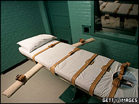 Execution chamber for lethal injections