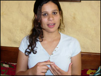 Cairo University student, Salma Mahmoud, 19