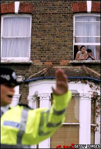 Police clear Portnall Road