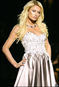 Paris Hilton, London Fashion Week