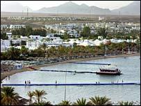 Red Sea resort of Sharm el-Sheik