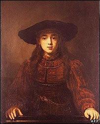 Rembrandt van Rijn's Jewish Fiancee