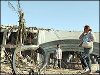 Scene of attack at Ghazala Gardens Hotel