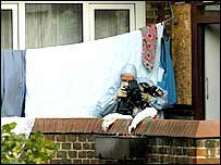 Police collect evidence after Stockwell arrest