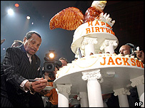 Joe Jackson celebrates his birthday
