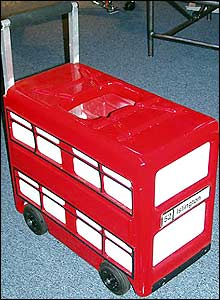 Photo of the oxygen trolley bus