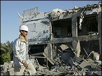 Bombed building, Sharm al-Sheikh