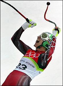 Austria's Michaela Dorfmeister