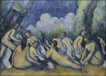 Bathers (Les Grandes Baigneuses) - copyright: National Gallery, London
