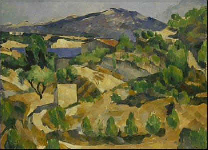 Mountains in Provence, near L'Estaque - copyright: National Museums and Galleries of Wales, Cardiff