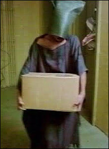Image of prisoner at Iraq's Abu Ghraib jail broadcast by Australia's SBS TV network