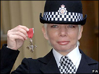 British Transport Police Constable Deborah Russell-Fenwick