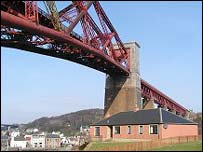 Forth Rail Bridge at North Queensferry (Picture by Undiscovered Scotland)